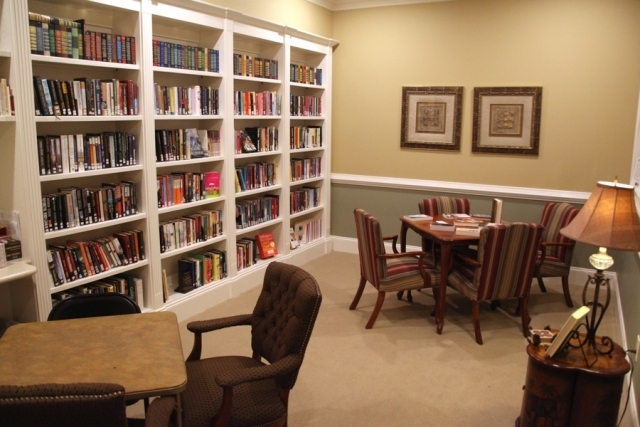 Main Cottage Library