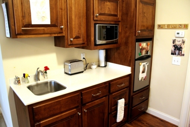 Assisted Living In-Suite Kitchenette