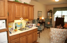 Assisted Living Private Kitchen Area