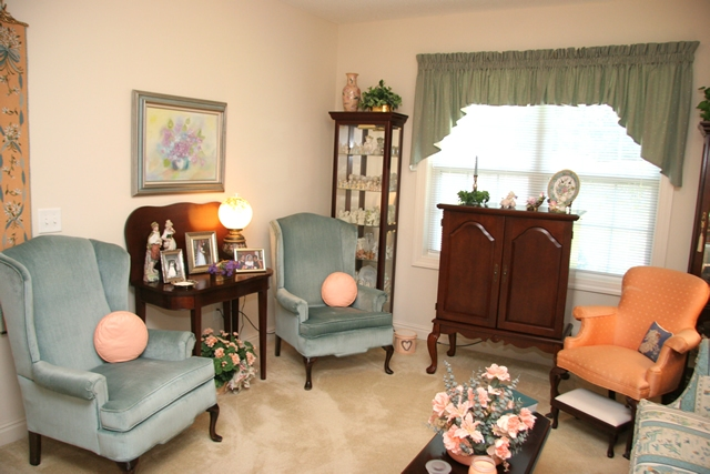 Assisted Living Private Living Room