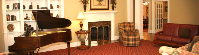 Assisted Living - Main Cottage Living Room